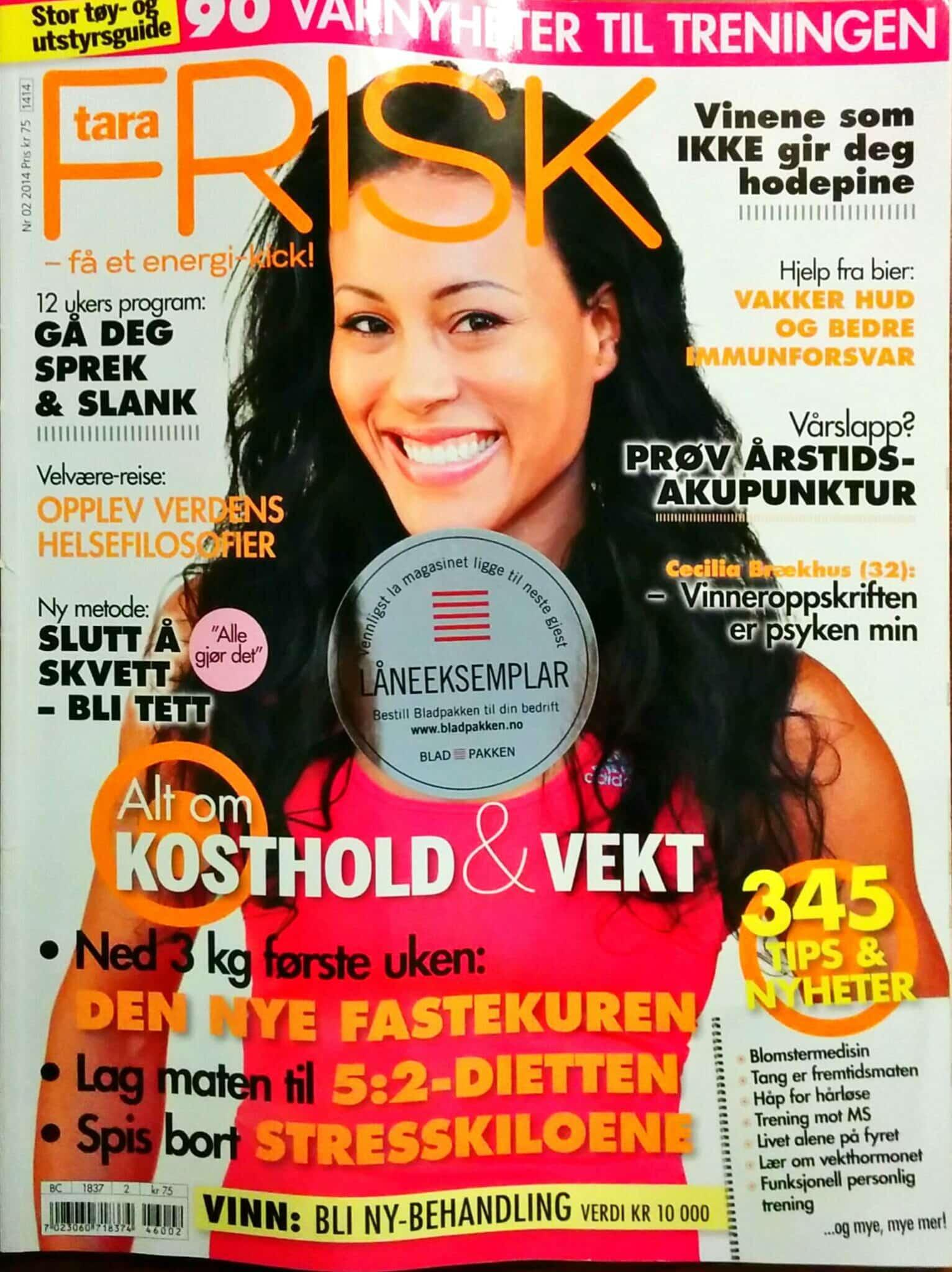 Cover Tara Frisk
