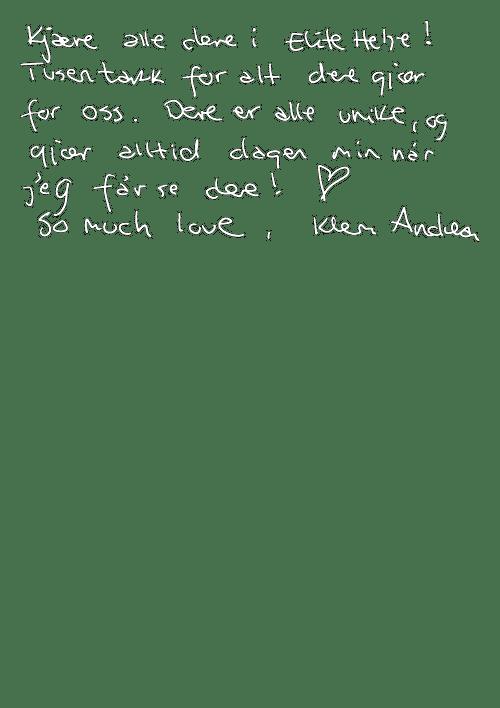 Testimonials Andrea