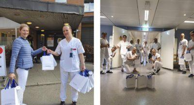 Vart bidrag til Ullevål Sykehus og Oslo legevakt